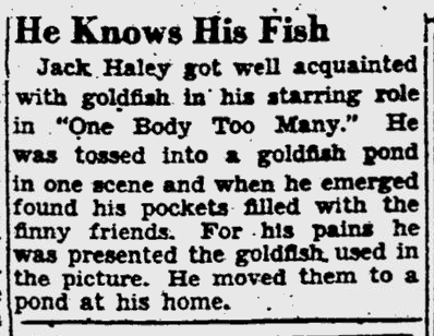 One Body Too Many, Pittsburgh Post-Gazette, May 3, 1944