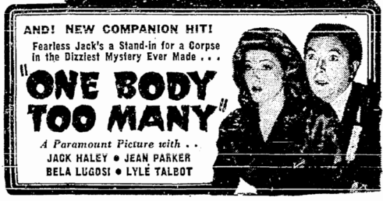 One Body Too Many, Seattle Daily Times, February 14, 1945