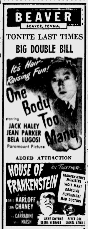 One Body Too Many, The Daily Times, July 13, 1945