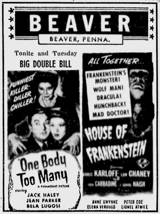 One Body Too Many, The Daily Times, July 12, 1945