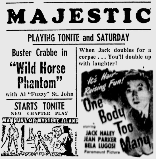 One Body Too Many, The Daily Times, March 9, 1945
