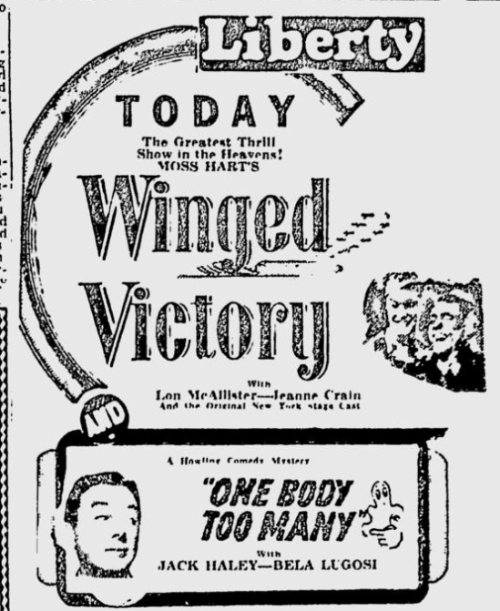 One Body Too Many, The Spokesman-Review, April 17, 1945