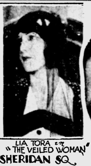 The Veiled Woman, Pittsburgh Press, April 21, 1929