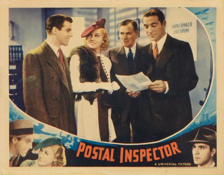 Postal Inspector lobby card