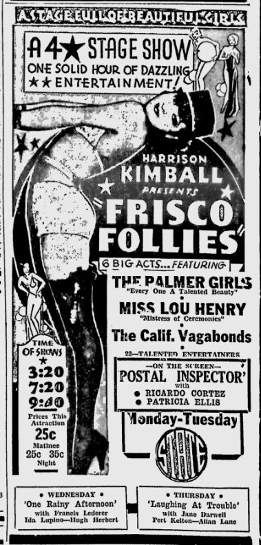 Postal Inspector, The Sunday Spartanburg Herald-Journal, December 13, 1936
