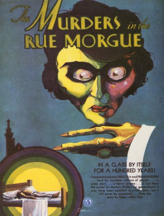 Murders In The Rue Morgue Pre-Production Art