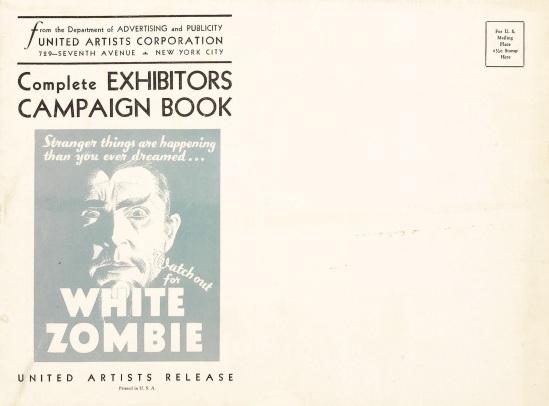 White Zombie Pressbook 2