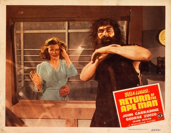 Return of the Apeman Lobby Card 4