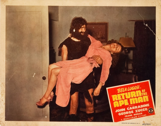 Return of the Apeman Lobby Card 5