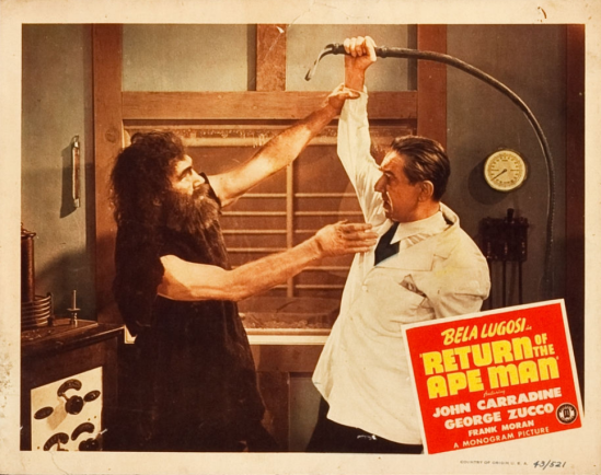 Return of the Apeman Lobby Card 7