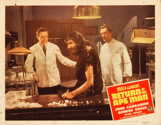 Return of the Apeman Lobby Card 8