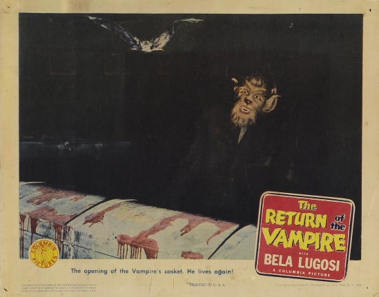 Return of the Vampire 1943 Lobby Card 4
