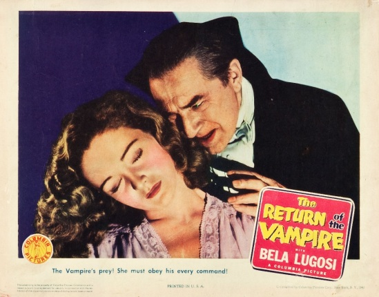 Return of the Vampire 1943 Lobby Card 5