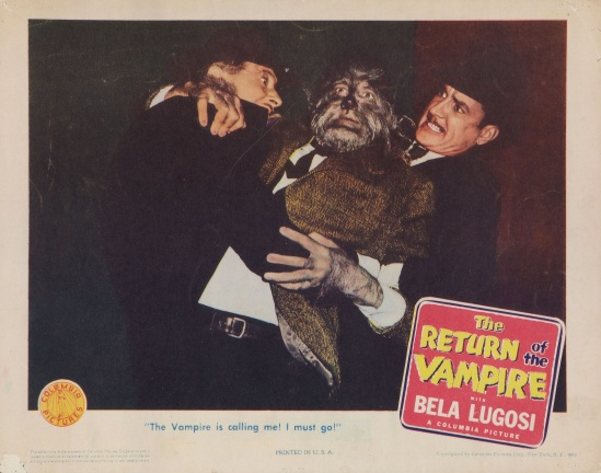 Return of the Vampire 1943 Lobby Card 7