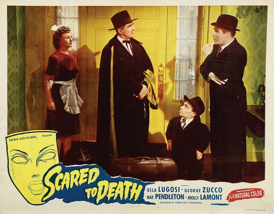 Scared To Death Lobby Card