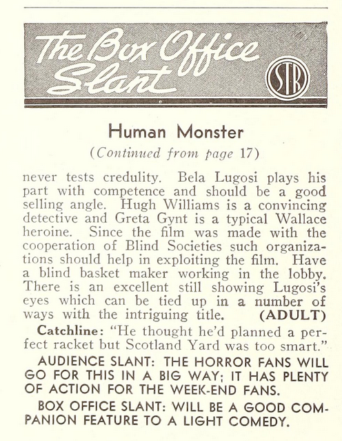Showman's Trade Review, March 9, 1940