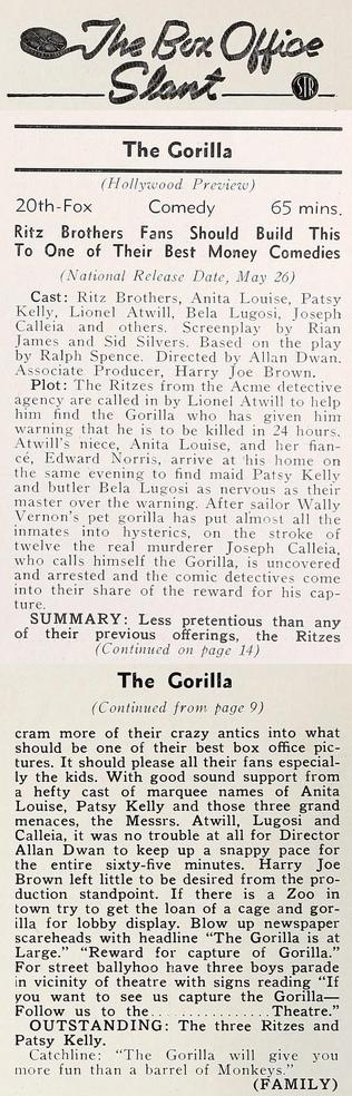 Showman's Trade Review, May 27, 1939