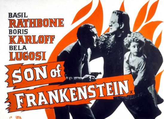 フランケンシュタイン1950再販商品ポスターの息子