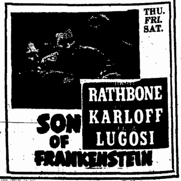Son of Frankenstein, Augusta Chronicle, February 12, 1939
