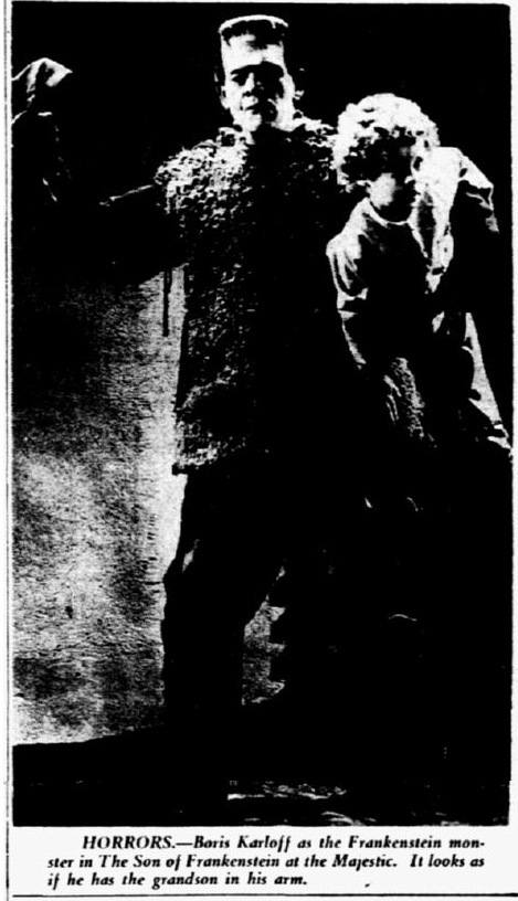 Son of Frankenstein, Dallas Morning News, January 15, 1945 2