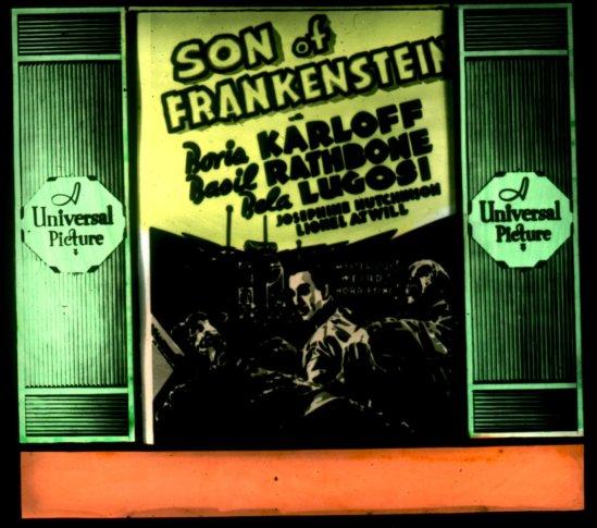 フランケンシュタインガラススライド2の息子