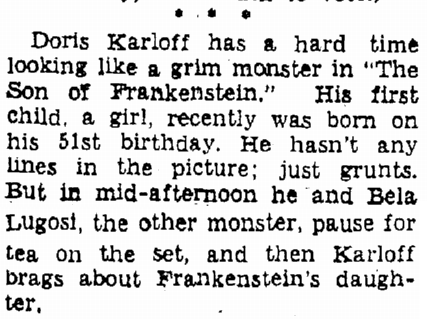 Son of Frankenstein, Heraldo de Brownsville, December 19, 1938