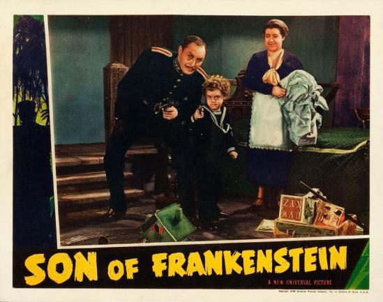 フランケンシュタインの息子ロビーカード6