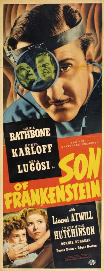 フランケンシュタインのポスター2の息子