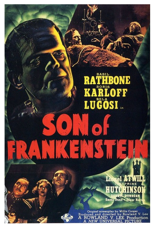 "Son of Frankenstein 40 "" x 60"" Poster"