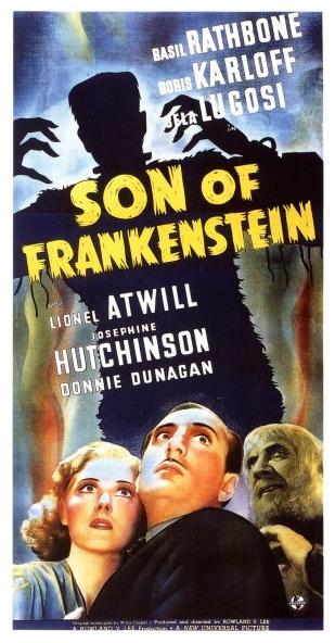 フランケンシュタインポスターの息子