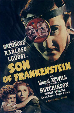 Son of Frankenstein pressbook