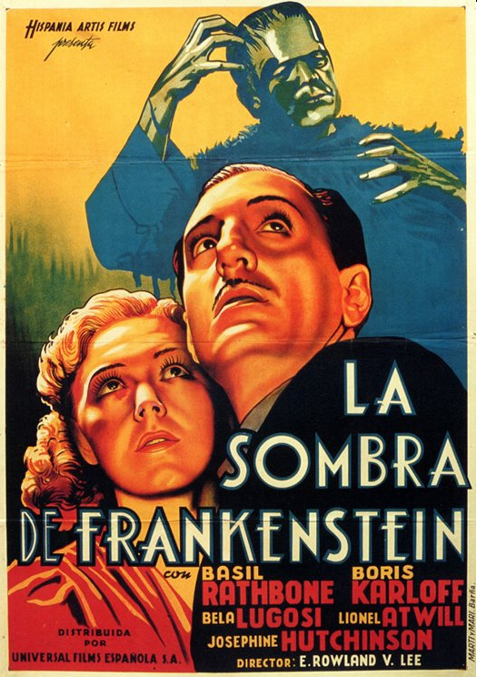 フランケンシュタインスペインポスターの息子