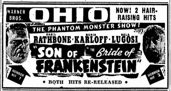 Son of Frankenstein, The Canton Repository, June 4, 1948