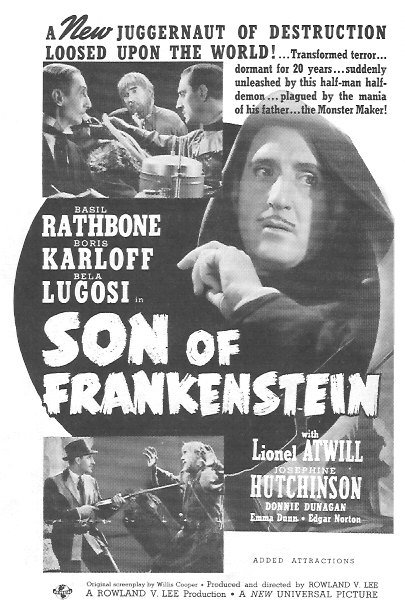 Son Of Frankenstein Trade Ad 3