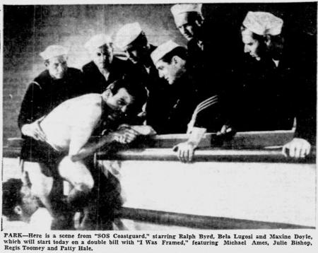 SOS Coast Guard, Reading Eagle, May 16, 1942 b