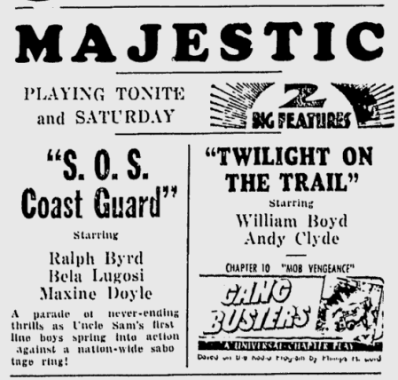 SOS Coast Guard, The Daily Times, July 3, 1942