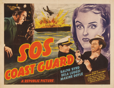 SOS Coast Guard 1942 half sheet