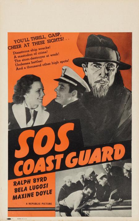 SOS Coastguard Window Card