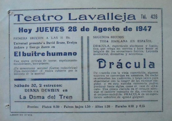 Dracula Spanish Herald 2