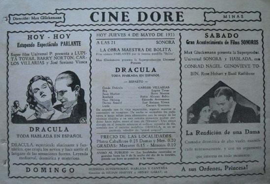Dracula Spanish Herald 3