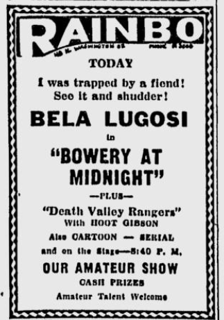 Bowery At Midnight: Spokane Daily Chronicle, Jan 17, 1945