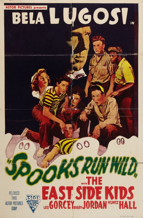 Spooks Run Wild 1949 re-issue One Sheet