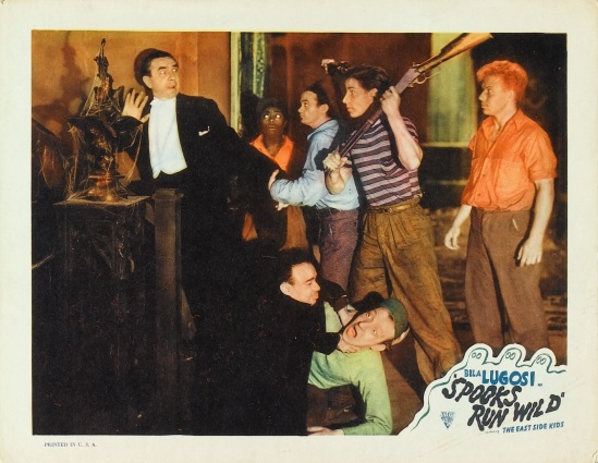 Spooks Run Wild 1949 Re-Release Lobby Card 1