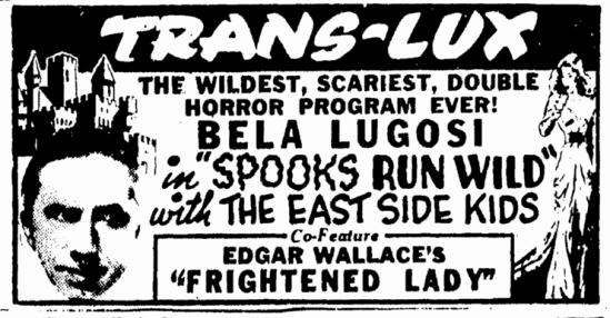 Spooks Run Wild, Boston Herald, October 22, 1941
