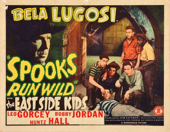 Spooks Run Wild Half Sheet