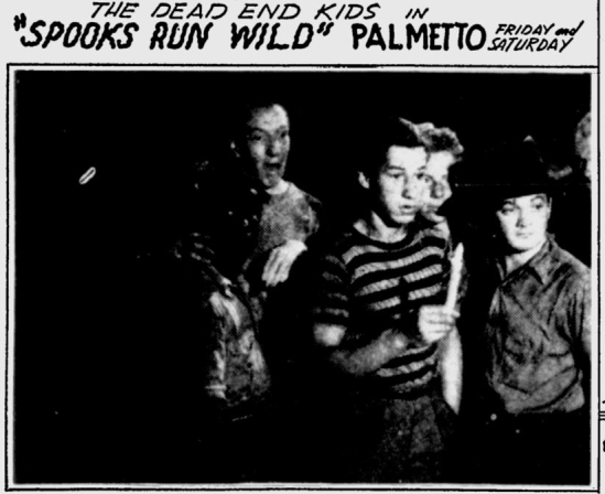 Spooks Run Wild, Herald-Journal, December 21, 1941