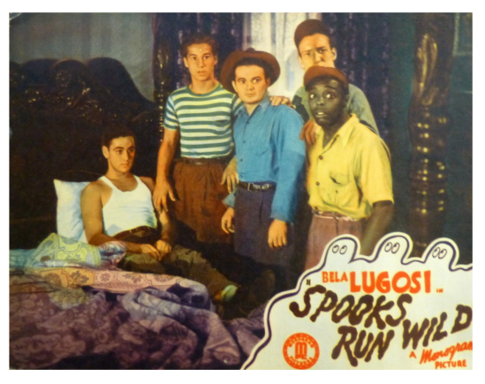Spooks Run Wild Lobby Card 3