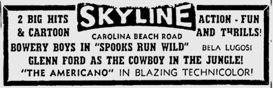 Spooks Run Wild, Star-News, March 23, 1956