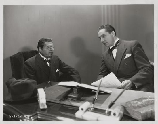 Such Men Are Dangerous Warner Baxter and Bela Lugosi
