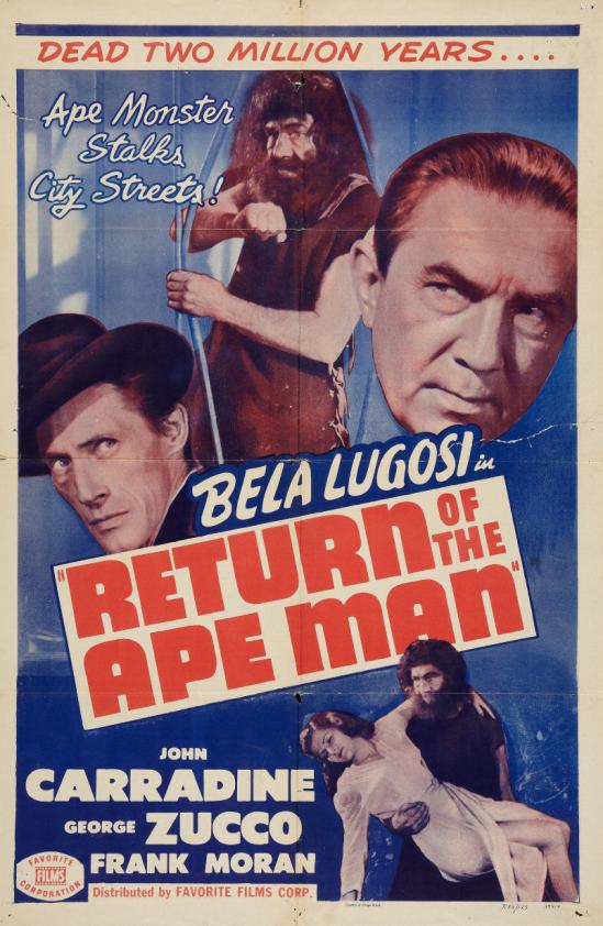 猿人1950再リリース1枚のシートに戻る